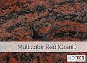 Multicolor Red (Granit)