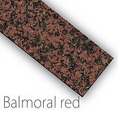 Fensterbank Granit Balmoral Red