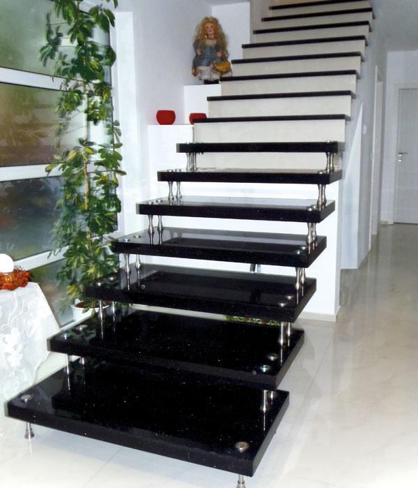 bilder granittreppen fensterb nke und mehr klepfer. Black Bedroom Furniture Sets. Home Design Ideas
