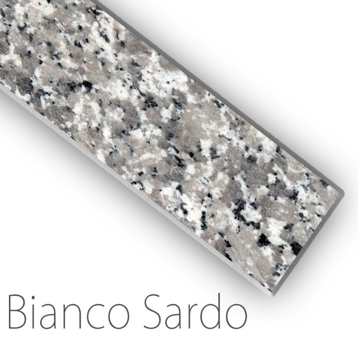 Fensterbank Granit Bianco Sardo