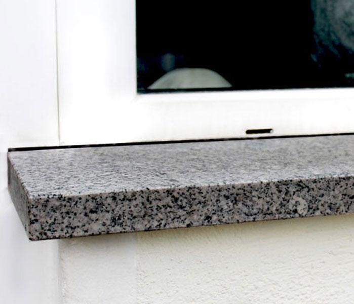 Fensterbänke aus Granit innen & außen - Klepfer Natursteinwerk