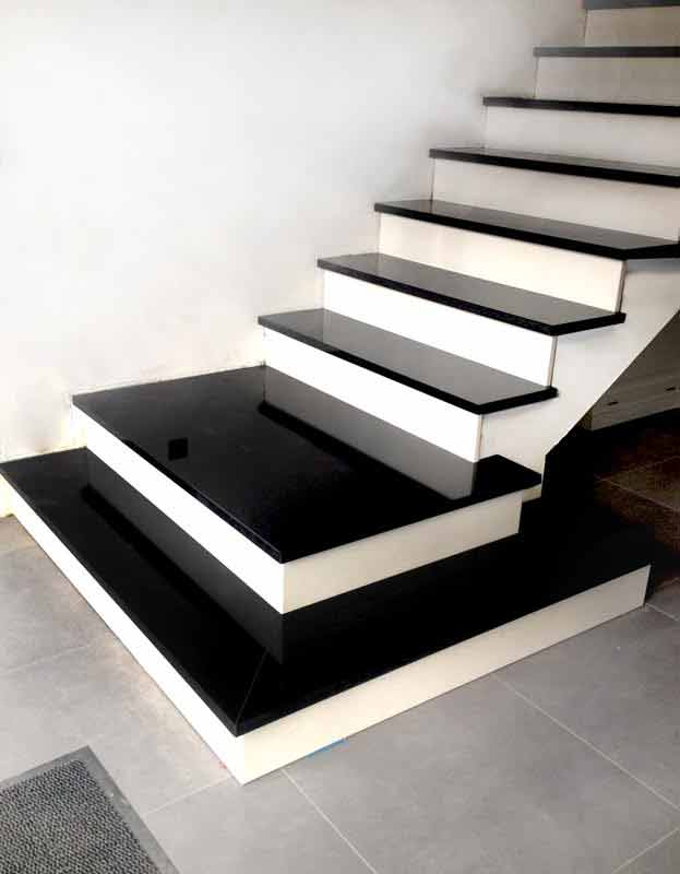 betontreppen treppen granit marmor klepfer naturstein. Black Bedroom Furniture Sets. Home Design Ideas