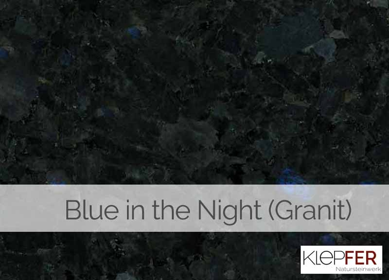 Blue in the night Granit