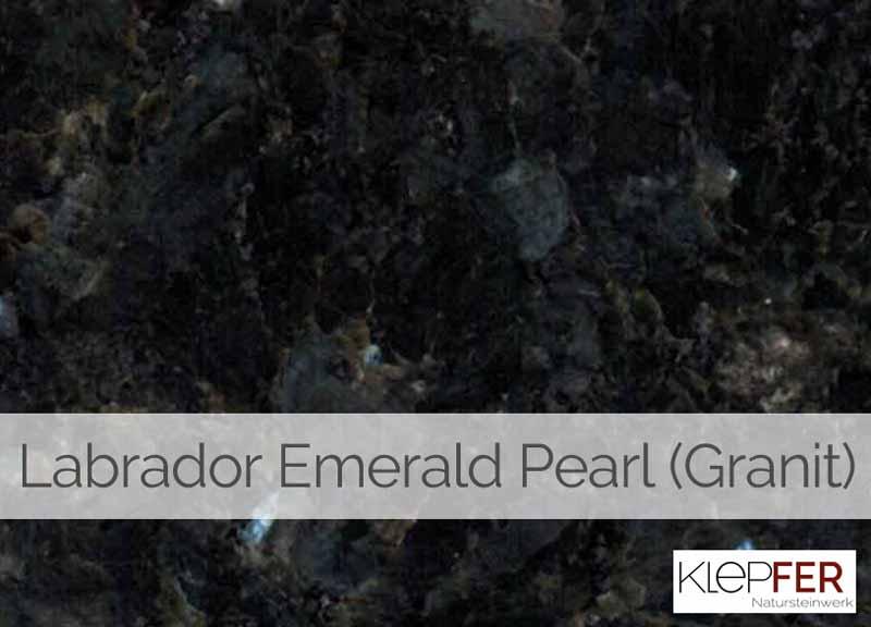 Labrador Emerald Pearl (Granit)