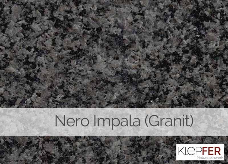 Nero Impala (Granit)